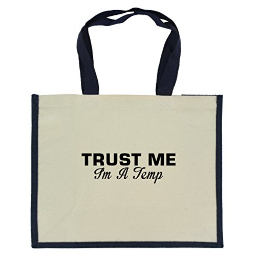 trust-me-im-a-temp-in-black-print-jute-large-shopping-bag-with-navy-handles-and-trim