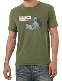 TEXLAB - Robot detected - Herren T-Shirt