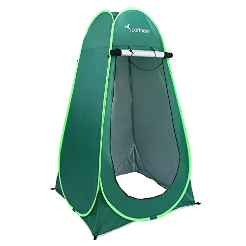 6.25 'Portable Pop Up Changing Tent Dressing Room Outdoor Shelter For Camping Photo Shoot Shower Toilet w/Carrying Bag by Sport Neer