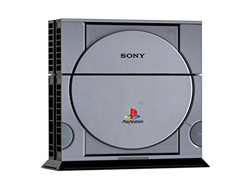 Sony-PS4-Playstation-4-Skin-Design-Foils-Sticker-Set-Retro-PSOne-Motivo