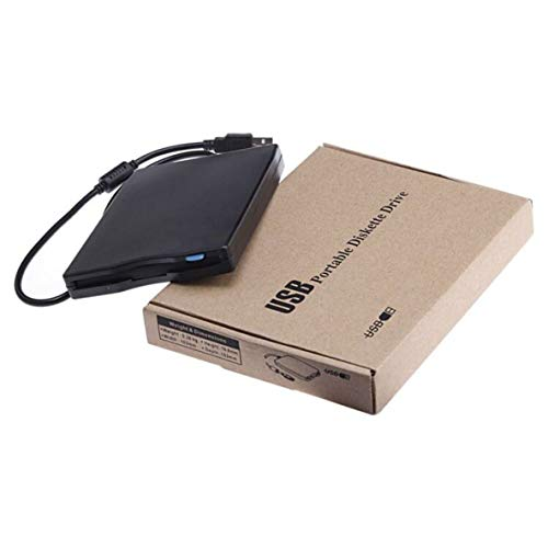 "Noradtjcca Universal USB 2.0 Slim 3,5\""Zoll USB 1,44 MB tragbare Externe Diskette für PC Laptop"