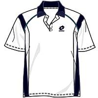 Lotto Polo Race PL Junior, Jungen, white/dark navy