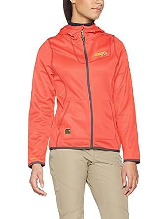 Geographical Norway Damen Funktionsjacke, Orange (Coral), Small (Herstellergröße: 1)