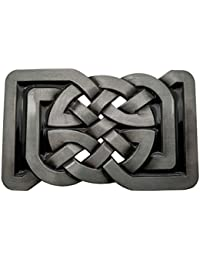 YONE Hebilla de cinturón Rectange Celtic Knot Belt Buckle