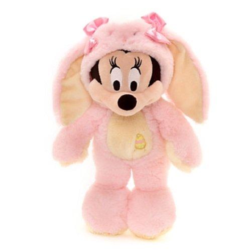 Disney Minnie Maus Plüschfigur, Osterhase (Rosa Minnie Maus Ohren)
