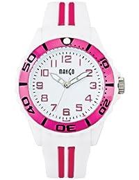 Mango A68359-1H0A - Reloj para mujeres, correa de silicona