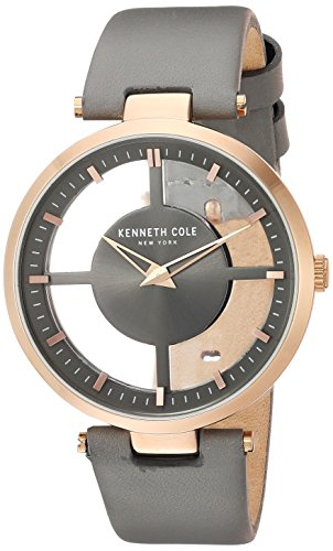 Kenneth Cole New York Women's Analog-Quartz Watch with Leather Strap KC15004009