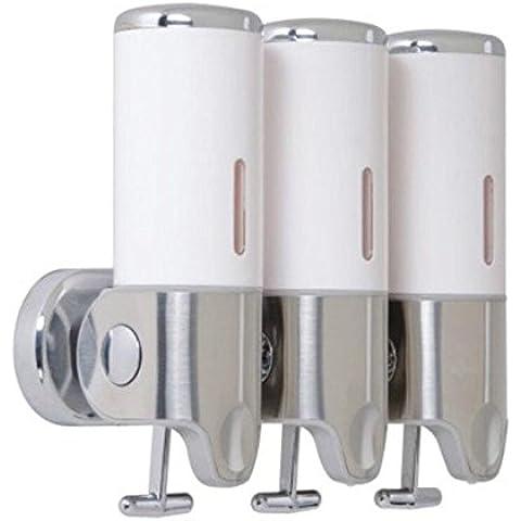 OOFAY YSPJ ® Página de inicio inoxidable acero líquido desinfectante jabón dispensador de jabón , white , 500ml*3