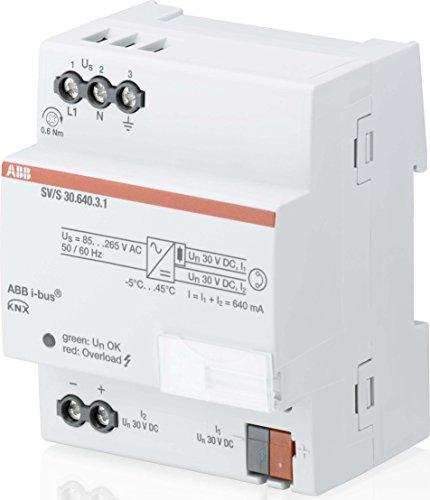 ABB Stotz S&J EIB-Spannungsversorgung SV/S 30.640.3.1 640mA Bussystem-Spannungsversorgung 4016779906210