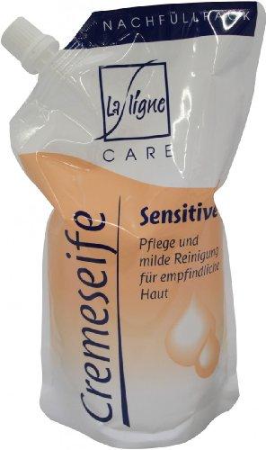 La Ligne Cremeseife Sensitive Nachfüllpack 500ml