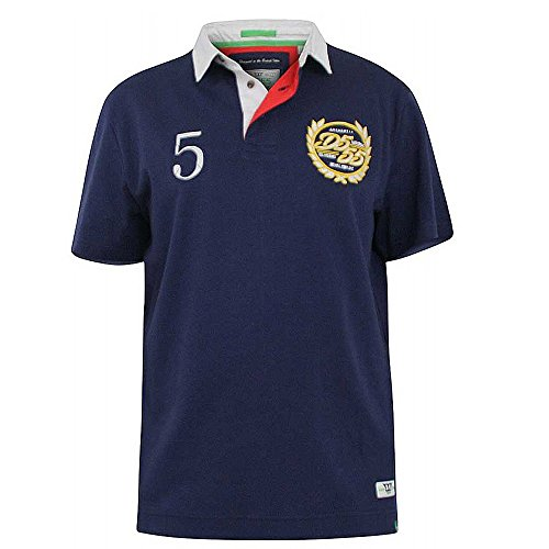 87870b7602e DUKE D555 Mens Rugby Shirt - Judd - Navy Blue - 3XL - Buy Online in Oman. |  Apparel Products in Oman - See Prices, Reviews and Free Delivery in Muscat,  ...