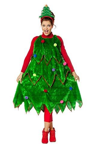 Weihnachtsbaum Kostüm Herrenkostüme Herren Karneval Fasching Haut Grün Bunt
