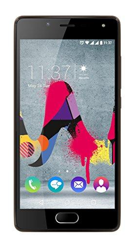 Wiko UFEEL LITE WIKUFEELITCHOST 16GB 4G Chocolate - Smartphone (SIM doble, Android, MicroSIM, EDGE, GPRS, GSM, WCDMA, LTE)