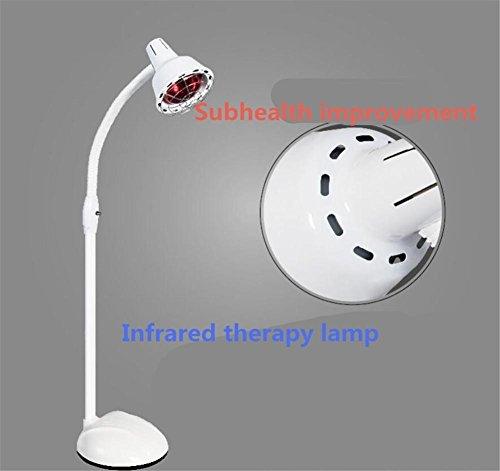 Single-lampe Wärme-lampe (biofamily Infrarot-Schulter Bund Schmerzlinderung Projektor Behandlung Flexarm Lampe-Ofen (275W) Single)