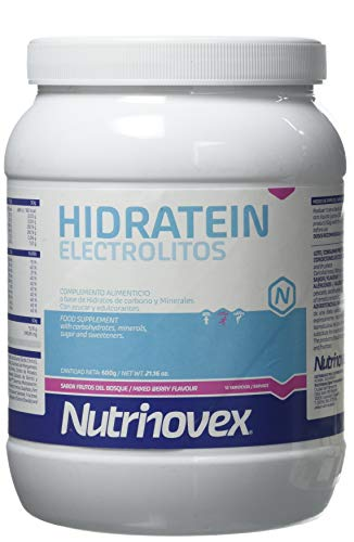 Nutrinovex Hidratein, Sabor Frutos del Bosque - 600 gr
