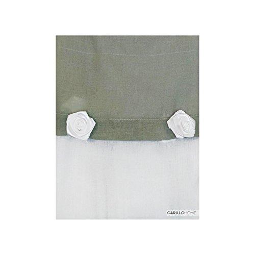 Coppia tendine funny - 60x230, verde