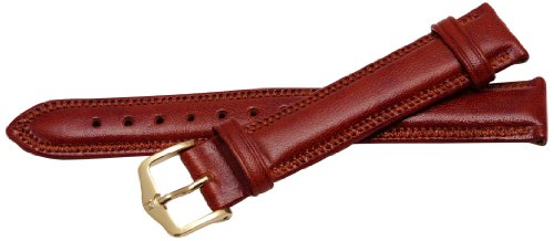 Bernex Ascot Unisex-Armbanduhr mit Lederarmband braun GB42103