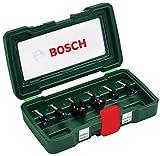 Bosch DIY 6tlg. Fräser-Set HM (Ø 8 mm)