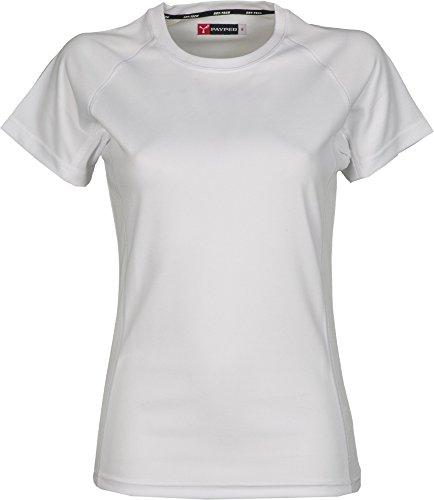 Dry-Tech Sports T-Shirt mit Raglan-Ärmeln Weiss M -