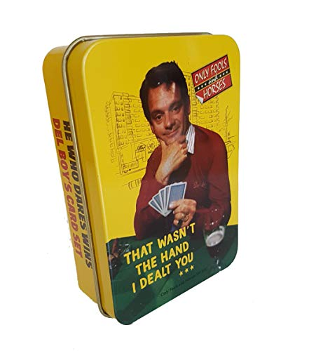Only Fools and Horses Playing Cards in Tin - That Wasn't the Hand I Dealt You