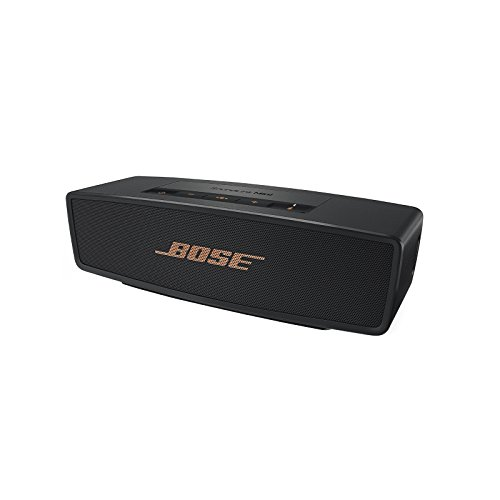Bose SoundLink Mini Bluetooth Lautsprecher II schwarz/gold (Sonderedition)