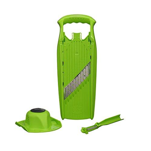 Geschenkset in grün - Wellenschneider für Rohkost Salate ()