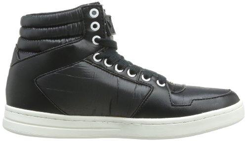 Calvin Klein Jeans Perico Shiny Nylon Smooth, Chaussures de boxe homme Black