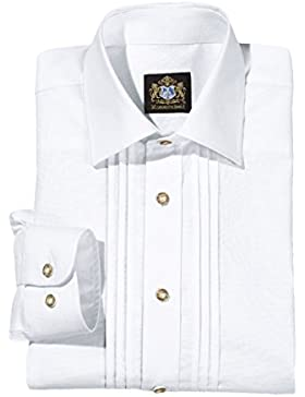 Hammerschmid 14000 Herren Trachtenhemd in Weiss