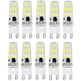 12W G9 Luces LED de Doble Pin T 16 SMD 5733 900-1000 lm Blanco Cálido / Blanco Fresco Decorativa / Impermeable AC 100-240 V 10 piezas , warm white