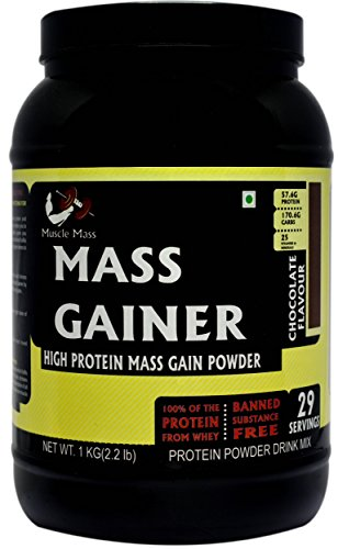 15818ca9563 Muscle Mass Gainer (Whey Protein) Supplement Powder Chocolate