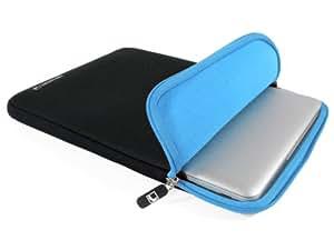 COOL BANANAS ShockProof Sleeve, Tasche, mit strapazierfähigem Nylonbezug und Memory-Foam-Effekt für Apple MacBook Pro und MacBook Air 13 Zoll - Farbe Blau