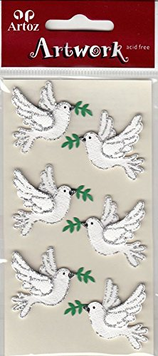 wedding-doves-and-fig-leaf-craft-embellishment-religious-event-or-wedding-card-topper-scrapbooking-s
