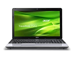 Acer Travelmate P253-M-33114G50Mnks  39,6 cm (15,6 Zoll) Notebook (Intel Core i3-3110M, 4GB RAM, 500GB HDD, Intel HD Graphics 4000, kein Betriebssystem) silber