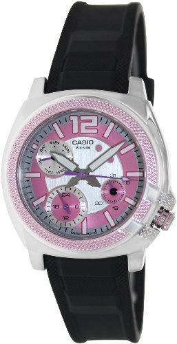Casio LTP1320B4A–Orologio da donna gomma rosa