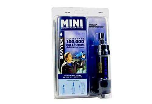 Sawyer MINI Original Wasserfilter SPARSET mit 3 x 1 Liter oder 2 x 2 Liter Trinkbeutel - 4