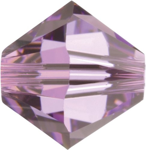 Original Swarovski Elements Beads 5328 MM 5,0 - Tanzanite AB (539 AB) ; Diameter in mm: 5 ; Packing Unit: 720 pcs. Light Amethyst (212)