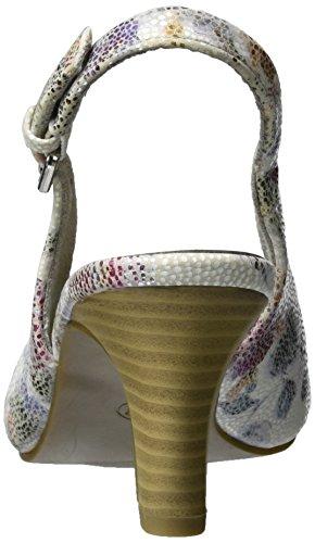 Jane Klain - 296 146, Scarpe col tacco Donna Mehrfarbig (WHITE MULTI)