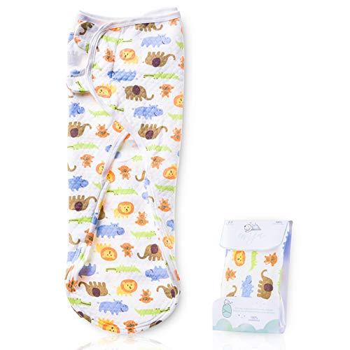 EMJA Premium Baby Pucksack Universalgröße - Einziges Pucktuch System Von Deutschen Hebammen Entwickelt - Einzige Puckdecke Mit Extra Weichem Stoff Und Reißverschluss - 4x Längere Schlafdauer