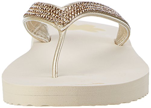 flip*flop - Flip*glam, Infradito Donna Beige (sombrero)