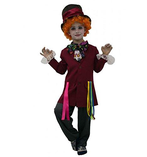 Sombrerero Loco disfraz inspirado (1 a 12 años) - TB - 7 a 9 años