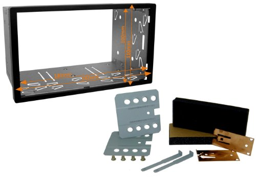 Watermark # # DD–0001Doppel DIN KFZ Radio Blende Frame-Compatible mit Sony, LG, Pioneer, JVC, BLAUPUNKT, ZENEC etc.