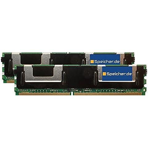 8GB (2x4GB) Kit modulo per HP ProLiant BL460c DDR2 FB