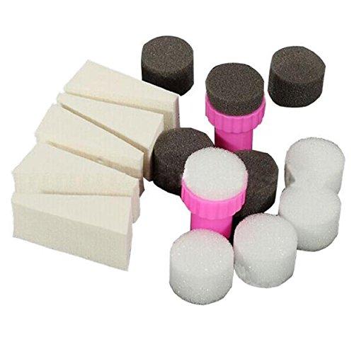 Susenstone - 1 set de nail art avec tampons pour dégradés - Manucure