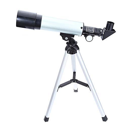 XuBa Astronomisches Monokular-Teleskop mit Okular-Optik-Refraktor mit Stativ 2...