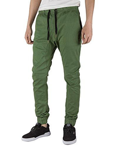 Italy Morn Harem Pantalones De Hombre Deporte Chinos Cargo Pantalon Sk