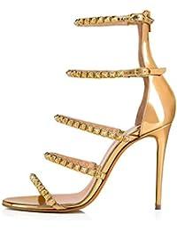 nuovo di zecca 4587d 29689 Amazon.it: dorate - 37 / Scarpe da donna / Scarpe: Scarpe e ...