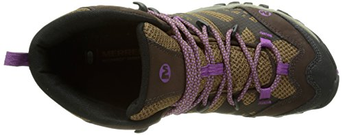 MerrellAll Out Blaze Vent Mid Gtx - Scarpe Primi Passi donna Multicolore (Dark Brown)