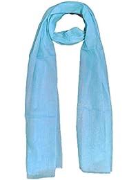 696f43e22 SKY BLUE HIJAB COTTON HIJAB PLAIN HIJAB LADIES MUSLIM HIJAB WOMENS HIJAB  DAILY WEAR STOLES SUMMER