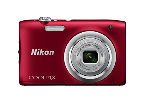 Nikon Coolpix A100 Appareil Photo Compact 20 Mpix Roug