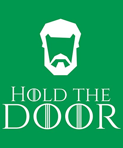 -- Hold the Door -- Boys T-Shirt Kelly Green